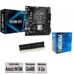 ASROCK Intel G6400 kit...